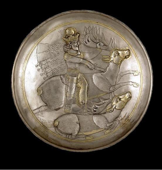 Index Of Image Ancient Iran Wallpapers Sasanian Silver Dishes